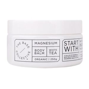 Magnesium + White Tea Body Balm Moisturiser by The Base Collective ORGANIC