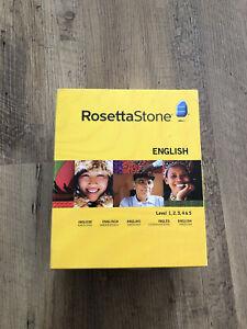 Rosetta Stone English - Level 1, 2, 3, 4 Und 5