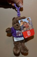 "1D One Direction ZYAN BEAR Mini 6"" Mini Bear Backpack Clip"