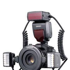 Yongnuo YN24EX TTL Twin Lite Macro Flash Speedlite LCD Display for Canon Camera