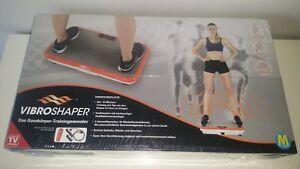 Vibro Shaper Vibroshaper Vibrationsplatte Trainingsgerät incl. Zubehör Neu