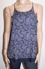 CLOCKHOUSE Brand Navy Floral Sleeveless Top Size 42/L BNWT #SV105