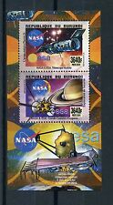 Burundi 2014 MNH NASA ESA Telescopes & Probes 2v Deluxe M/S Space Hubble Saturn