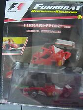 F 1 Rennwagen Kollektion 1:43 * Nr. 6 * Ferrari F 2002 Michael Schumacher