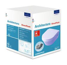 Villeroy & Boch Architectura Combi-Pack Tiefspül-Wand-WC WC-Sitz ceramicplus