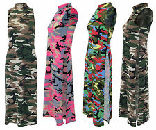 Unbranded Camouflage Midi Dresses for Women