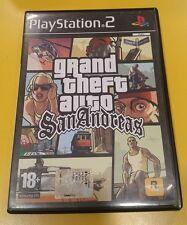 GTA San Andreas Grand Theft Auto GIOCO PS2 VERSIONE ITALIANA