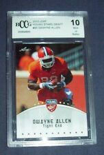 2012 Leaf Young Draft Stars Dwayne Allen Graded Rookie Card