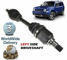 Per JEEP PATRIOT 2.0 DT SUV 9/2006 & gton Frontale Sinistra Nuovo DRIVESHAFT COMPLETO