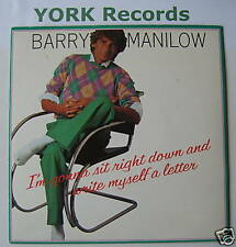 """BARRY MANILOW - I'm Gonna Sit Right Down - Ex 7"""" Single"""