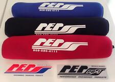 "PEP Shock Covers Front ATV 15"" Black LTR450 YFZ450R Long Travel DS650 TRX 450R"