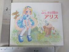 POP WORLD ILLUSTRATION Alice in Wonderland Art Book Moetan *
