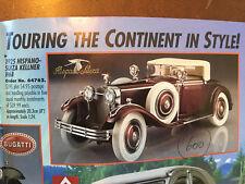 ✅ RARE  Franklin Mint 1:24 1925 Hispano-Suiza H6B Kellner  ✅ COST $195 BARGAIN#