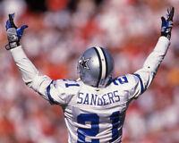 1997 Dallas Cowboys DEION SANDERS 'Primetime' 8x10 Photo Football Print Poster