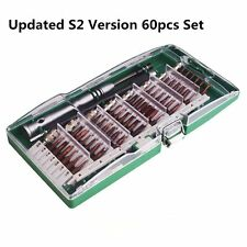 60 in 1 Precision Torx Screwdriver Cell Phone Repair Tool Set Tweezer Mobile Kit