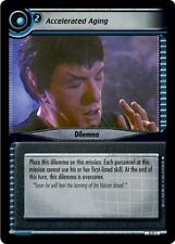 Star Trek CCG 2E Genesis Accelerated Aging 11P1