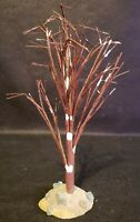 """Lemax Christmas Village 8"""" Bare Tree With Snow"""