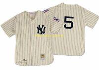 JOE DiMAGGIO New York NY YANKEES 1939 AUTHENTIC Mitchell & Ness Jersey Sz 48 XL
