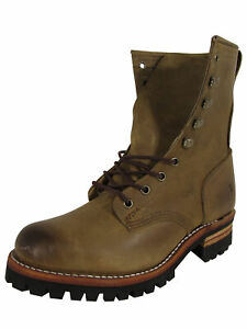 Frye Womens Logger 8G Leather Work Boots