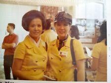 1970 Expo uniform Osaka Japan Size 8 - vintage double breasted yellow jacket