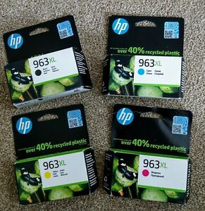 HP 963xl Ink Cartridges Multipack x 4 Colours 3JA30AE