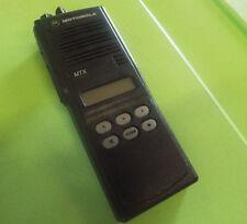 Motorola MTX-8000 Handie-Talkie FM Radio Model H01UCF6DB5AN @Z10