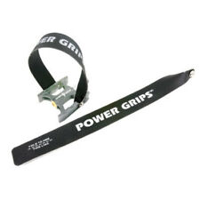Power Grips Black Standard Pedal Straps (Pair)