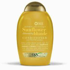 OGX Hydrate & Tone Reviving + Sunflower Shimmering Blonde Conditoner, 13 oz