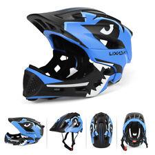 Detachable Full Face Helmet Children Sports Safety Helmet Cycling Skating I2E8