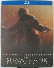 The Shawshank Redemption Blu-ray Steelbook (2012) ~ Tim Robbins, Morgan Freeman