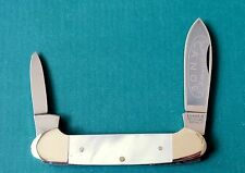 A.G. RUSSELL Germany Mohawk Canoe Knife - Mother of Pearl MOP AG German Made