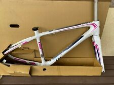 NEW 2015 GIANT/LIV WOMEN'S INVITE COMAX FRAME AND FORK SMALL WHITE/BLUE/PINK