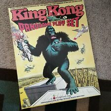 Colorforms King Kong Panorama Playset 1976