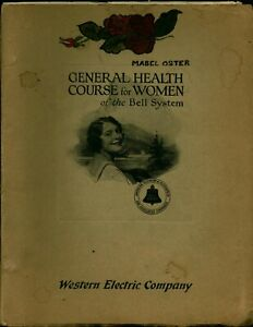 1926 Bell System Telephone General Health Course For WOMEN Telephone Operators