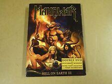 2-DISC MUSIC DVD / MANOWAR - HELL ON EARTH III