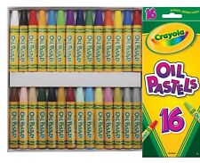 Crayola Oil Pastels NonToxic 16 OR 28 Piece Set YOUR CHOICE!