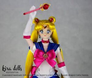PRE-ORDER Sailor Moon Doll Inspired Deluxe Handmade Kira Doll
