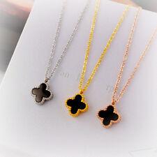 Collar 1 Colgante Dorado Acero Inoxidable 2 Laterales Negro Nácar Gris XXF 020