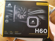 CORSAIR HYDRO SERIES H60 (2018) AIO Liquid CPU Cooler, 120mm Radiator