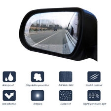 2pack SUV Car Anti Fog Film Coating Rainproof Rear View Mirror Protective