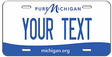 PERSONALIZED CUSTOM PURE MICHIGAN VANITY LICENSE PLATE AUTO TAG