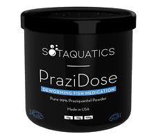 PraziDose Praziquantel Fish Dewormer Fluke Medication Treatment Pure 99% Powder