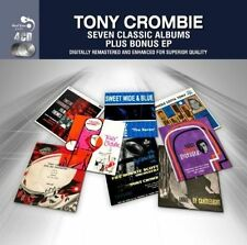 Tony Crombie - Seven Classic Albums Plus (4 Discs, Fatbox, Mischief) Drums!
