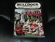1978 HILLSDALE COLLEGE (MI) AT BUTLER (IN) COLLEGE FOOTBALL PROGRAM
