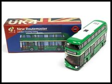 TINY UK4 New Routemaster Bus London General Livery #38 DIECAST CITY HONG KONG