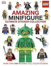 LEGO Amazing Minifigure Ultimate Sticker Collection DK Over 1000 Color Stickers