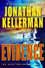 Evidence: An Alex Delaware Novel Kellerman, Jonathan HC BCE DJ Free Ship