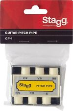 Stagg GP-1 Accordeur Pitch Pipe pour guitare.DIAPASON A BOUCHE 6 TONS.