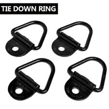 "4PCS Bolt-On D-Ring 2"" Cargo Strap Tie Down Flatbed Truck Trailer Rings Trucks"