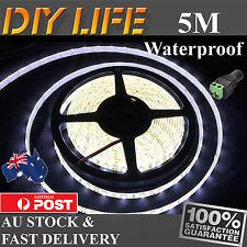 12V Cool White 3528 SMD 300 5M LED Strips Led Strip Lights Waterproof car boat